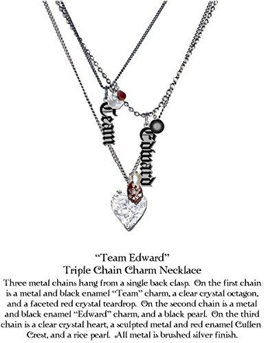 TWILIGHT ECLIPSE -NECKLACE TRIPLE EDWARD