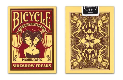 "Preisvergleich Produktbild Bicycle ""Side Show Freaks"" Deck"