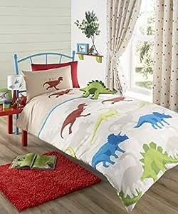 monde perdu jeu de housse de couette enfants dinosaure t. Black Bedroom Furniture Sets. Home Design Ideas