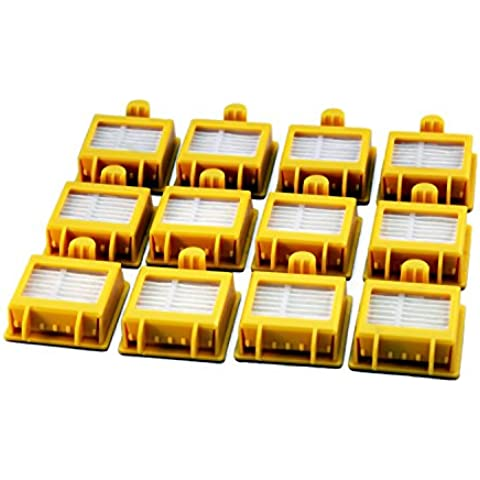 12pack filtro HEPA para la serie 700iRobot Roomba 13875