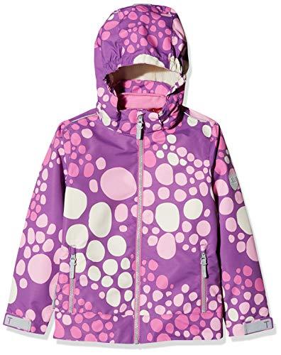 Offizielle Website Bestpreis größte Auswahl an Ticket To Heaven Girl's Jacke Lisa M. Abnehmbarer Kapuze Allover, M. Weste  Jacket, (Bright Violet|Purple 7970), 122