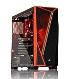 Ordinateur de Bureau AWD-IT Gaming - Processeur AMD Ryzen 2600X • NVIDIA RTX 2060 6 Go • RAM DDR4 16 Go • SSD 240 Go • HDD 1 to • Corsair Spec-Delta • Windows 10