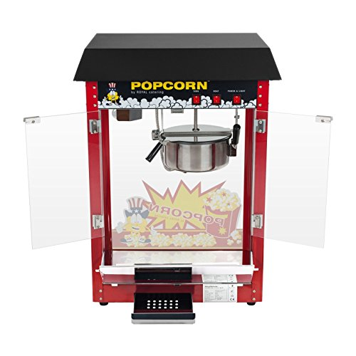 Royal Catering – RCPS-16E – Popcorn Machine – 1600W – 8 oz – 16L/h