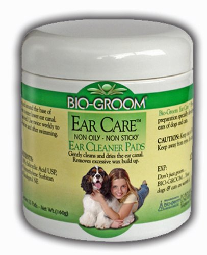Artikelbild: Bio-Groom Ear Care Medicated Ear Cleaner Pads Ultra Soft Saturated Cotton 25Pk