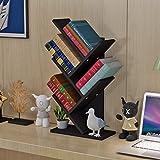 MEILING Auf dem Tisch Baum Form Kleine Bücherregal Kind Einfache Regal Student Desktop Bücherregal Office Storage Rack Storage Rack ( Farbe : 5 )