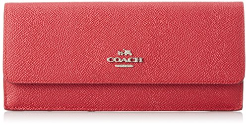 Brieftasche Coach cri lth Damen - Leder (52331SVTRUERED) (Coach Brieftasche Frauen)