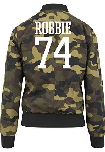 Robbie 74 Bomberjacke Girls Camouflage Certified Freak-S