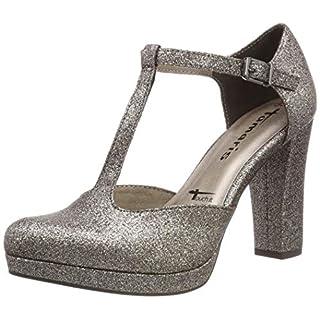 Tamaris Damen 1-1-24409-22 970 Slipper, Gold (Platinum Glam 970), 39 EU