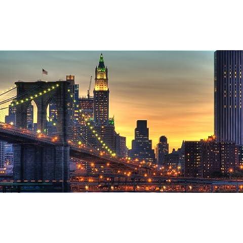 LARGE CANVAS ART PRINT NEW YORK CITY