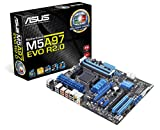 ASUS M5A97 EVO R2.0 - Placa base (DDR3-SDRAM, DIMM, dual, AMD, Socket AM3+, 4.8 GT/s)