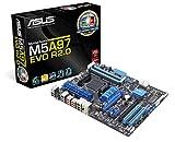 Asus M5A97 EVO R2.0 Mainboard Sockel AM3+ (ATX, AMD CrossFireX, AMD 970, 4x DDR3 Speicher, 16x PCIe, 2x USB 3.0)