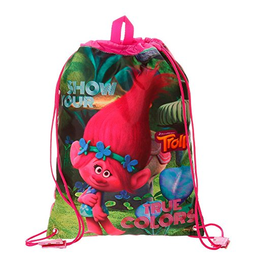 Imagen de trolls true colors  infantil, 40 cm, 1.2 litros, multicolor alternativa