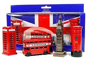 Awnhill Lot de 4souvenirs de Londres choisis parmi les meilleures ventes et incluant des taille-crayons