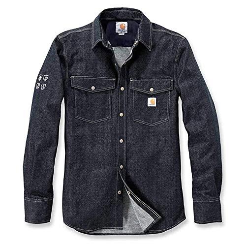 Carhartt Protective Denim Shirt - Jeanshemd Xl Workwear-snap