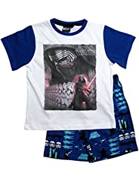 Star Wars Pyjama Kollektion 2017 Shortie 104 110 116 122 128 134 140 146 Shorty Kurz Schlafanzug Stormtrooper Weiß-Blau