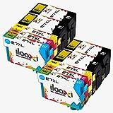Ilooxi Kompatibel Epson 27XL Tintenpatronen (4 Schwarz, 2 Cyan, 2 Magenta, 2 Yellow) Hohe Kapazität kompatibel zu Epson Workforce WF WF 3640 7610 3620 7620 7110 Druckerpatronen