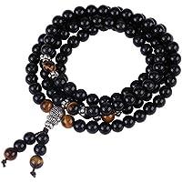 Fashion Natural Black Crystal Edelstein Lose Perlen Multilayered Armband/Halskette Buddha Perlen für Schmuck machen... preisvergleich bei billige-tabletten.eu