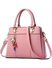 8ddd080df6080 Barwell Damen Handtaschen für Frauen PU Leder Umhängetasche Taschen Tote ...