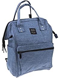 22.3L , Blue : MagiDeal Diaper Bag Multi-Function Waterproof Travel Backpack Nappy Bags For Baby Care, Large Capacity...
