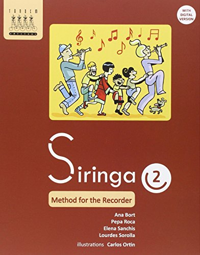 Siringa 2. Method for the recorder - 9788415554165