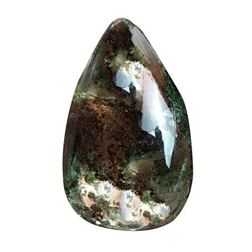 lianle 2-3cm Heilung Kristall Reinigungsstäbe Natürliche rosa Quarz Crystal Stein SPECIMEN Behandlung Stein Point Heilung Sechskant Zauberstab B (Crystal Point Halsketten)