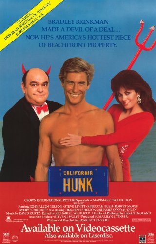 Hunk Plakat Movie Poster (11 x 17 Inches - 28cm x 44cm) (1987) B