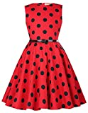 Kate Kasin Maedchen Audrey Hepburn Rockabilly Kleid 9 Jahre KK250-15