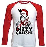Photo de Teesquare1st Men's DIZZY GILLESPIE JAZZ Red Long Sleeved T-shirt Size par TEESQUARE1st