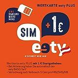 eety SIM Karte Österreich (SIM, Micro-SIM, Nano-SIM) für Smartphone/Tablet, Router/Laptop, Karte mit 1 Euro Startguthaben, roamingfähig