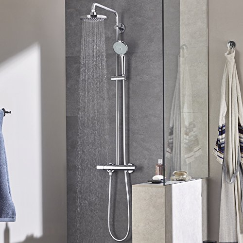 Grohe – Duscharmatur Euphoria mit Thermostatfunktion, DreamSpray, SpeedClean, Chrom - 5