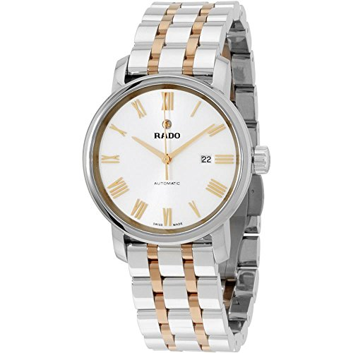 Rado Women's 33mm Two Tone Steel Bracelet Steel Case Automatic Watch R14050123