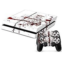Sony PS4 Playstation 4 Skin Design Foils Pegatina Set - Blood Motivo