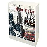 Kit Closet 4010140004 - Zapatero, diseño New York