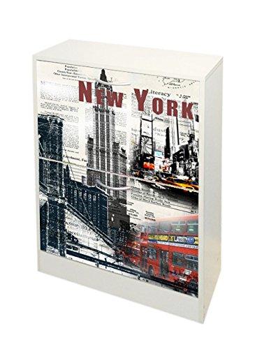 Kit Closet 4010140004 -Placard à Chaussures New York