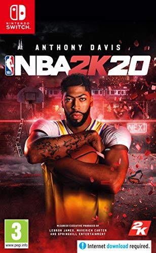 NBA 2K20 with Amazon Exclusive DLC - Nintendo Switch [Edizione: Regno Unito]