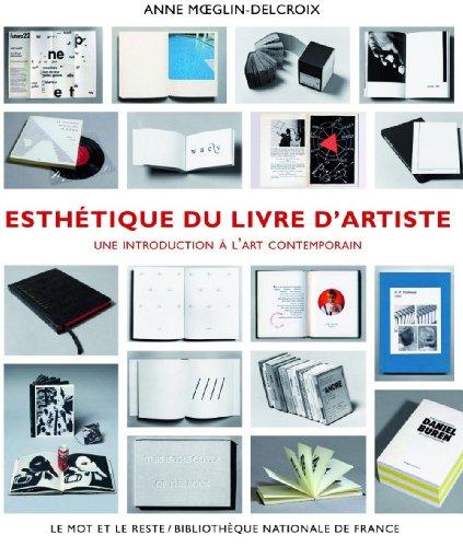 Esthétique du livre d'artiste 1960-1980 : Une introduction à l'art contemporain