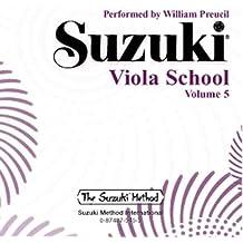 Suzuki Viola School CD 5: CD (Suzuki Method)