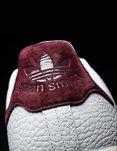 Baskets Basses Adidas Stan Smith, Beige / Noir Pour Homme (sésame / Noyau Noir / Chaussures Blanc)