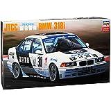 alles-meine.de GmbH BMW 3er E36 318i JTCC Tourenwagen Limousine Weiss 1990-2000 Kit Bausatz 1/24 Hasegawa Modell Auto mit individiuellem Wunschkennzeichen
