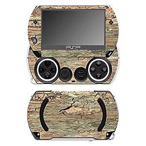 Disagu SF-14232_1054 Design Folie für Sony PSP Go – Motiv Holz No.8 transparent
