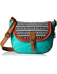 Kanvas Katha Women Sling Bag (Multi Color)(KKSLAZ002)