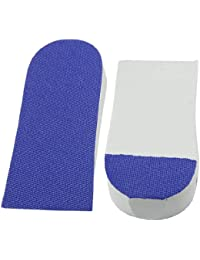 """Par de Plantillas para Suela Elevadoras para Incrementar la Estatura - Color Azul - Aumenta hasta 1""""/2.5cm"""
