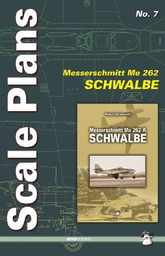 Scale Plans Me 262 Schwalbe por Dariusz Karnas