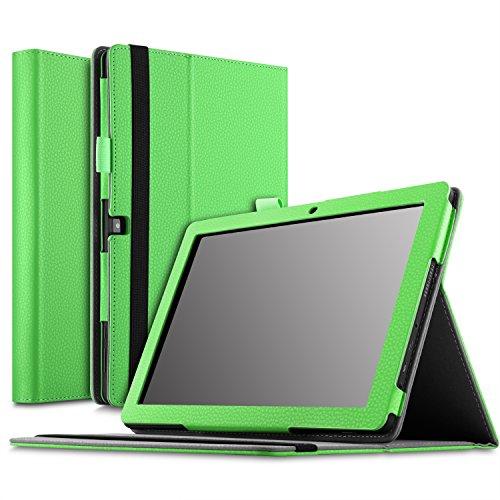 dragon touch x10 tablet IVSO Dragon Touch X10 Cover Custodia - Slim-Book Case Custodia Protettiva in Pelle PU per Dragon Touch X10 2017 Tablet