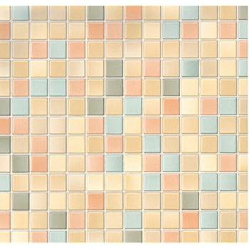 Klebefolie 4er set m belfolie mosaik pienza for Dekorfolie fliesen