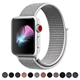 HILIMNY Für Apple Watch Armband 38MM, Ersatz für iwatch Armband Series 3, Series 2, Series 1 (Muschel, 38MM)