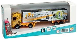WDK Partner - Camión de Juguete (8.5x22x6.5 cm) (A1300052) (Surtido, Modelos aleatorios)
