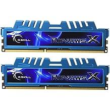 G.Skill F3-12800CL7D-8GBXM - Memoria RAM DDR3 de 8GB (1600MHz, 240-pines, 2x 4GB) DDR3-RAM Kit