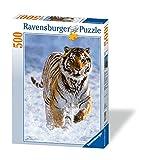 Ravensburger Puzzle - 144754 Tiger im Schnee, 500 Teile