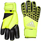 adidas Unisex Torwarthandschuhe Ace Zones Pro, Solar Yellow/Semi Solar Yellow/Black, 10, S90125